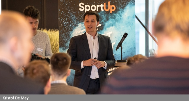 Kristof De Mey got the idea to start STRN - The Sports Tech Research and asked our guidance to launch this international assocation.